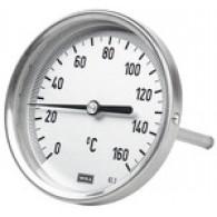 Termometer bimetalni, G 1/2 zadaj, L = 63, Φ 100, 0 ° C do 200 ° C [5204]