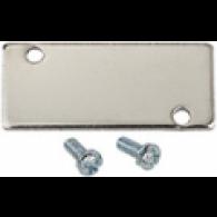 Pokrivna plošča za osnovno ploščo, priključek G 1/4, G 3/8 [5520.38-A]