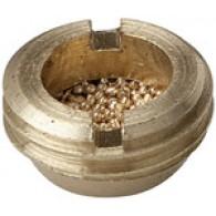 Dušilec zvoka sintran bron, raven, G 1 zunanji [560-6]