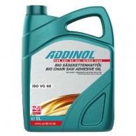 ADDINOL BIO CHAIN SAW ADHESIVE OIL 68, 5L - Biorazgradljivo olje za verige motornih žag