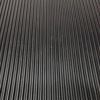 GT avtotekač ozka rebra 3mm x 1200mm x 10m, črna - Profilirana tehnična guma