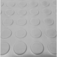 GT avtotekač round dot 3mm x 1500mm x 10m, siva - Profilirana tehnična guma