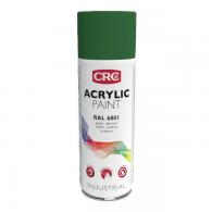 CRC Acrylic paint RAL 6001 Emerald Green, 400ml - Barva v spreju akril