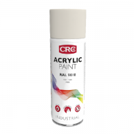 CRC Acrylic paint RAL 9010 White Matt, 400ml - Barva v spreju akril