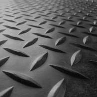 GT avtotekač diamant 3mm x 1500mm x 10m, črna - Profilirana tehnična guma