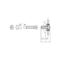 Vijak EFT-1 - Vijak napenjalnega verižnika