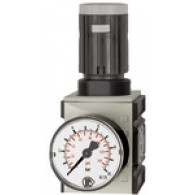 Tlačni regulator »FUTURA«, z manometrom, BG 2, G 3/8, 0,5 - 16 bar [FU 7166]