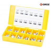 Set mazalk BSPT 110 kos - 43991 [GFT/KIT/M-110A] - v plastični škatli