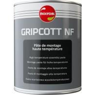 MOLYDAL GRIPCOTT NF, 1kg - Visokotemperaturna montažna pasta -25°C +1000°C