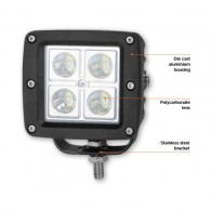 LED žaromet 12W, CREE LED, 10 - 30V DC, 840 LM, alu - 55064 [LED/505]