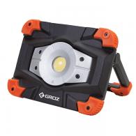 LED reflektor, akumulatorski 20W COB, 2000 LM, prenosni + powerbank in robustno ohišje - 55047 [LED/560]