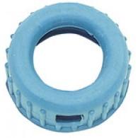 Zaščita iz gume, modre barve, za Mano-Ø 63 mm [GS 31]