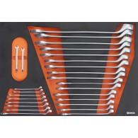 Garnitura orodja v vložku, veli kost A, 26 kos, tip 13A - 62513 [KIT/MOD/13A]
