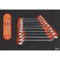 Garnitura orodja v vložku, veli kost A, 12 kos, tip 19A - 62519 [KIT/MOD/19A]