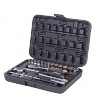 Garnitura nasadnih ključev 1/4'' v kovčku, 19 kos - 40193 [KIT/SKT/H/1-4/19UG]