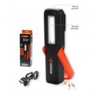 Ročna svetilka 3W, 160 LM, z magnetom, zaponko in obešalom - 55059 [LED/390]