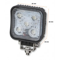 LED žaromet 15W, 12 - 36V DC, 900 LM, alu - 55016 [LED/501]