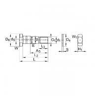 LFE 40X107-A1 - Vijak