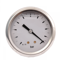 "Manometer 63, 0-16 bar, glicerin, AP, G1/4"", kl.1.6, inox"