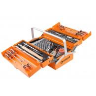 Garnitura orodja v alu kovčku, 65 kos - 40056 [MTB/5AL/66/AU]