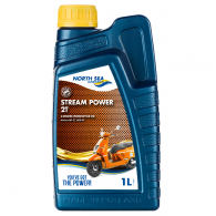 NSL STREAM POWER SYN 2-T, 1L - Motorno olje 2T