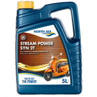 NSL STREAM POWER SYN 2-T, 5L - Motorno olje 2T