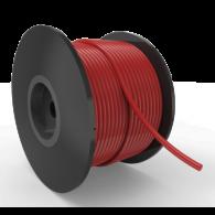 ORC VMQ60 6,00mm, rdeča, votla - Ekstrudirana O-tesnilna vrvica
