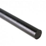 PA 6 E, fi 16x1000mm, črna - PA palica