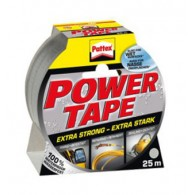 HENKEL PATTEX Power tape, srebrno siv, 25m - 1677377 - Lepilni trak