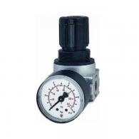 Regulator tlaka »multifix-mini«, z manometrom, velikost 0, G1/8'', max. 16bar, območje 0.5-10bar [R 05-10]