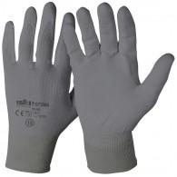 Rokavice zaščitne industrijske 07285, velikost 10, sive - Delovne rokavice, Nylon/PU