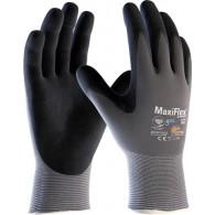 Rokavice MaxiFlex Ultimate 42-874, velikost 11, sive/črne - Delovne rokavice, Nylon/NBR