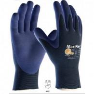 Rokavice MaxiFlex Elite 34-274, velikost 9, temno modre - Delovne rokavice, Nylon/NBR