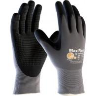 Rokavice MaxiFlex Endurance 42-844BL, velikost 10, sive/črne - Delovne rokavice, Nylon/NBR