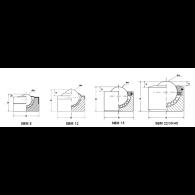 SBM 12 A - Skodelični ležaj