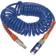 Spiralna cev, varnostni komplet za potisno tipko, PU, ΦΦΦ 12x8, 6,0 m [SP 18-600DSD]