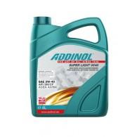 ADDINOL SUPER LIGHT 0540, 4L - Motorno olje za osebna vozila