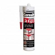 HENKEL CERESIT FT 101, bela, 280ml - 1896953 - Elastična masa za lepljenje, tesnenje in zapolnjevanje