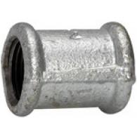 Vtičnica 270, ženske / ženska, Rp 3/8, črna kovina iz litega železa. [TFM 270-38]