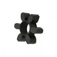 Vložek sklopke GEB 42-55, črn 94ShA - Parkljasta sklopka