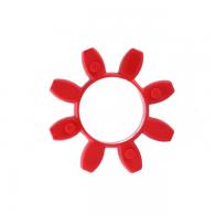 Vložek sklopke GEB SG 14, rdeč 98ShA - Parkljasta sklopka